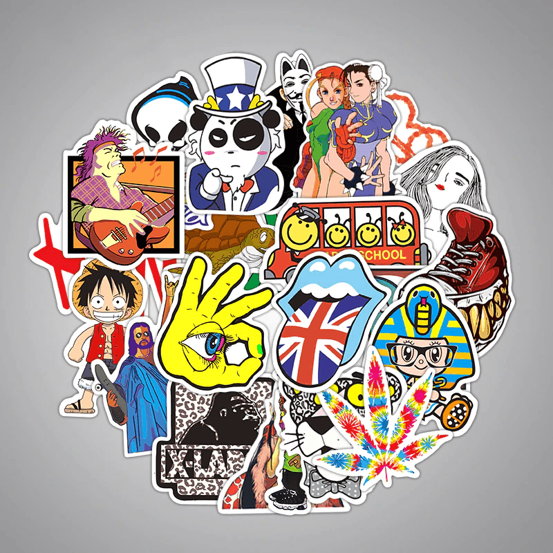 Special Mixed 5000 Pcs Stickers