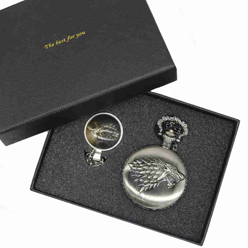 Game Of Thrones Pocket Watch Set