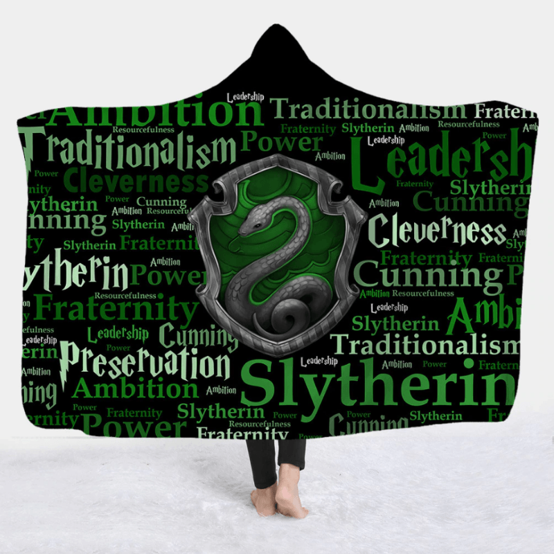 Harry Potter Hooded Blanket