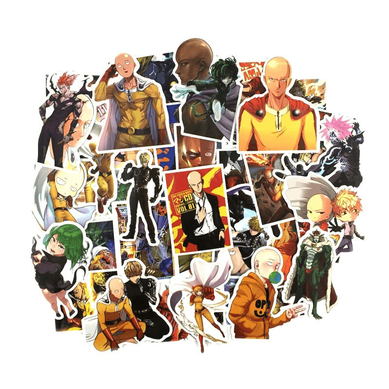 One Punch Man Main Stickers