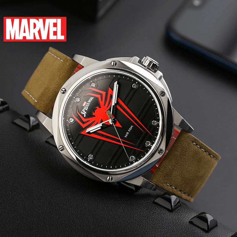Spider-Man Genuine Quartz Watch