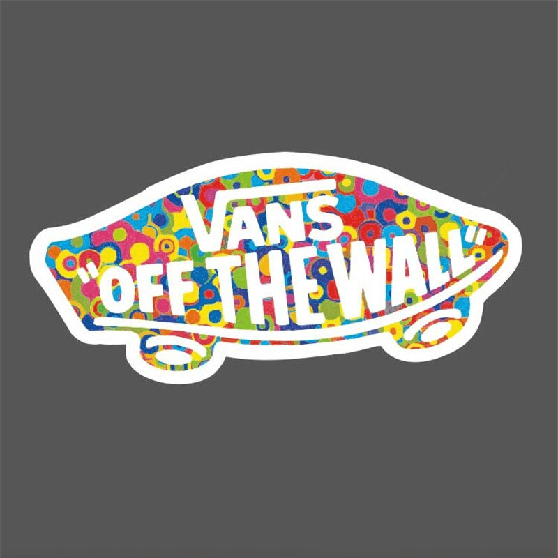 026cd75faf7 Vans Off The Wall Stickers
