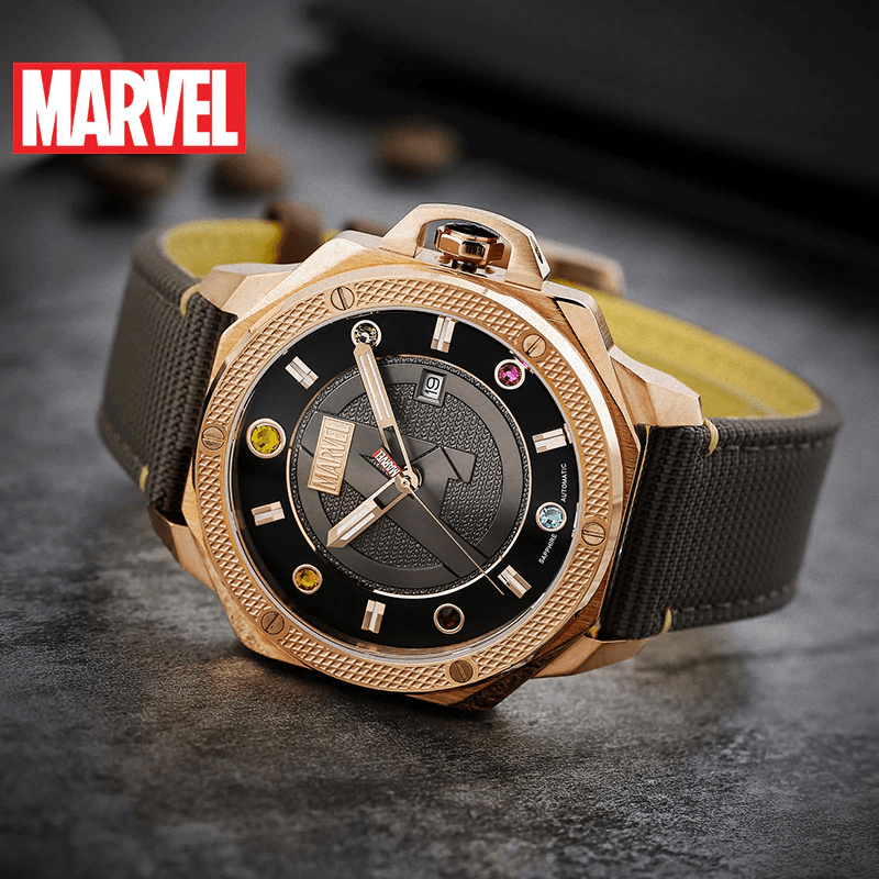 Avengers Infinity Stone Quartz Watch