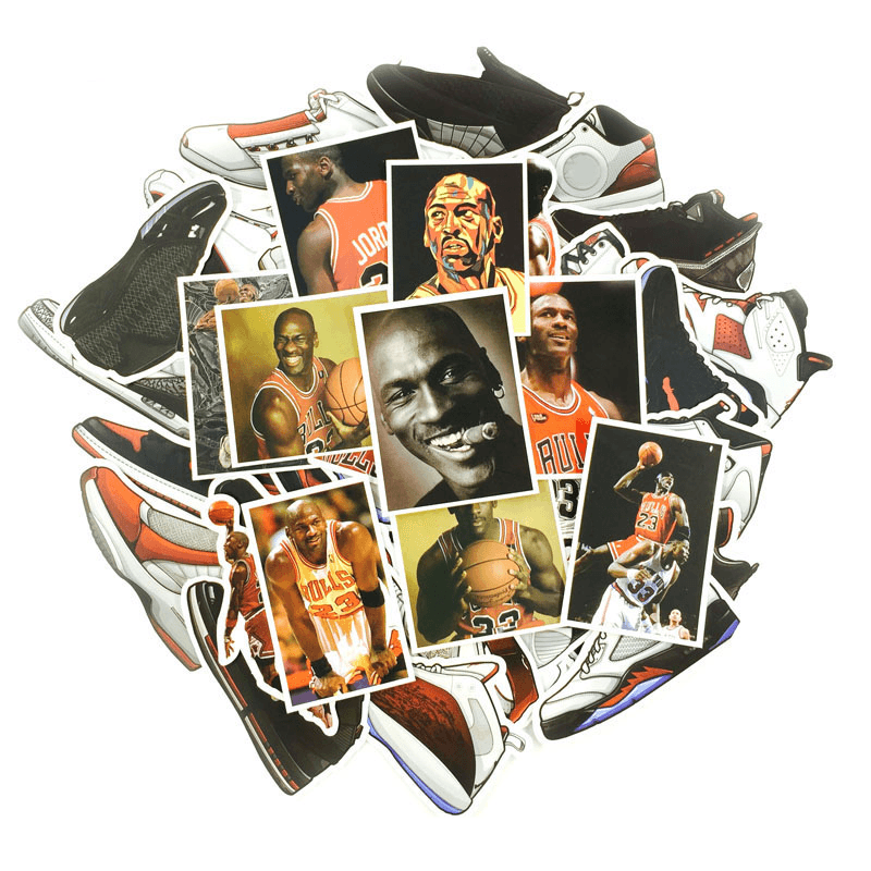 Basketball Jordan Stickers