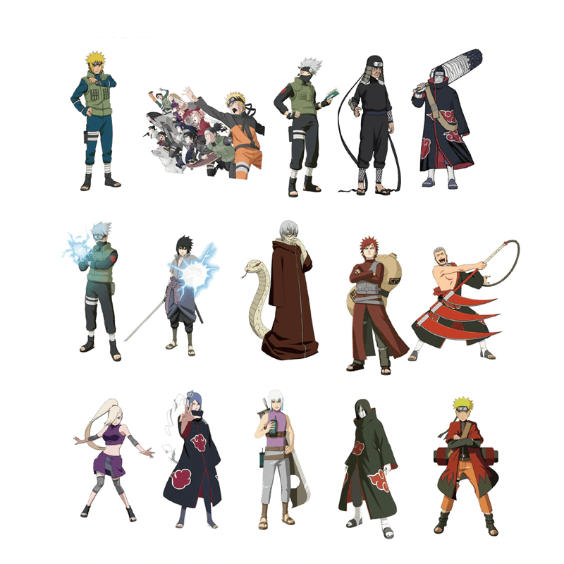 Naruto Characters Stickers