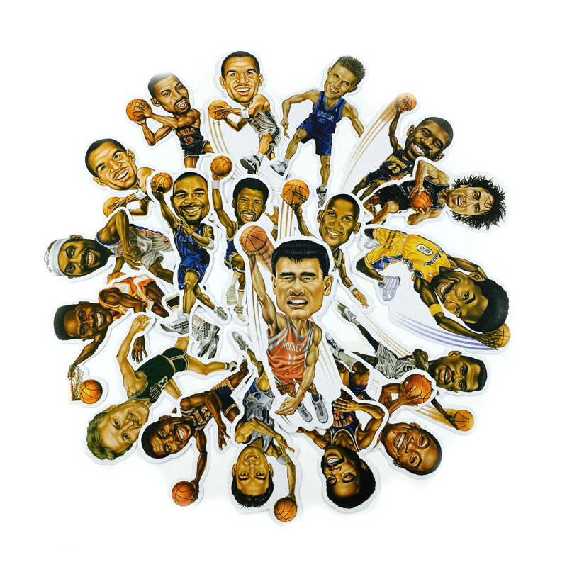 Basketball Stars Stickers