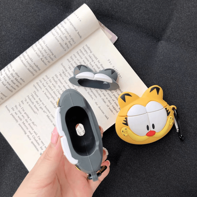 Garfield Cat 3D Airpods Case