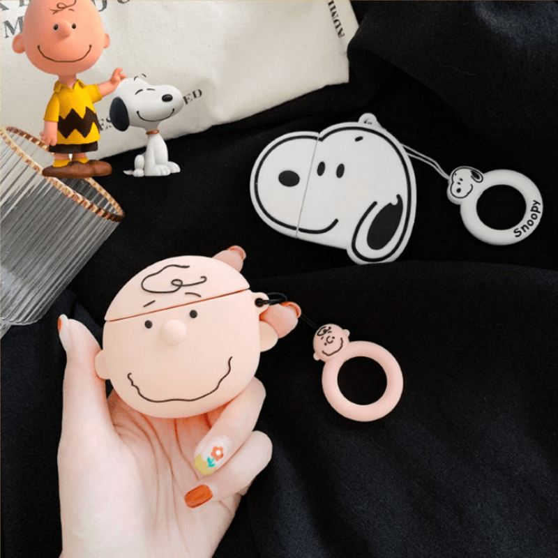Snoopy And Charlie 3D Airpods Case