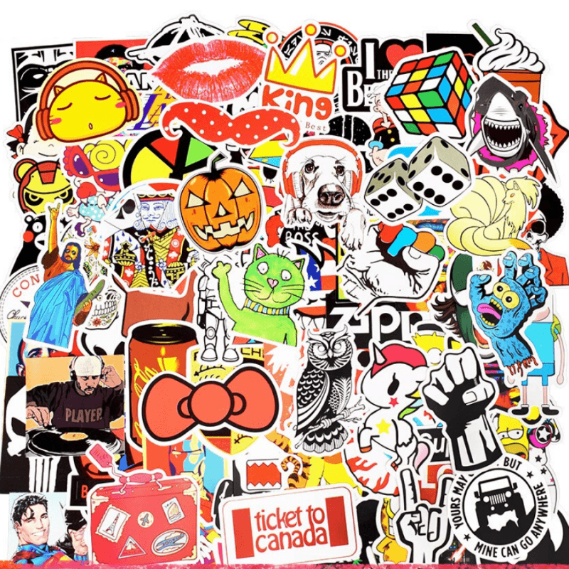 700Pcs Random Stickers