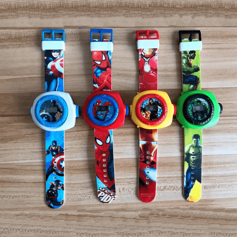 Superhero Projection Watch