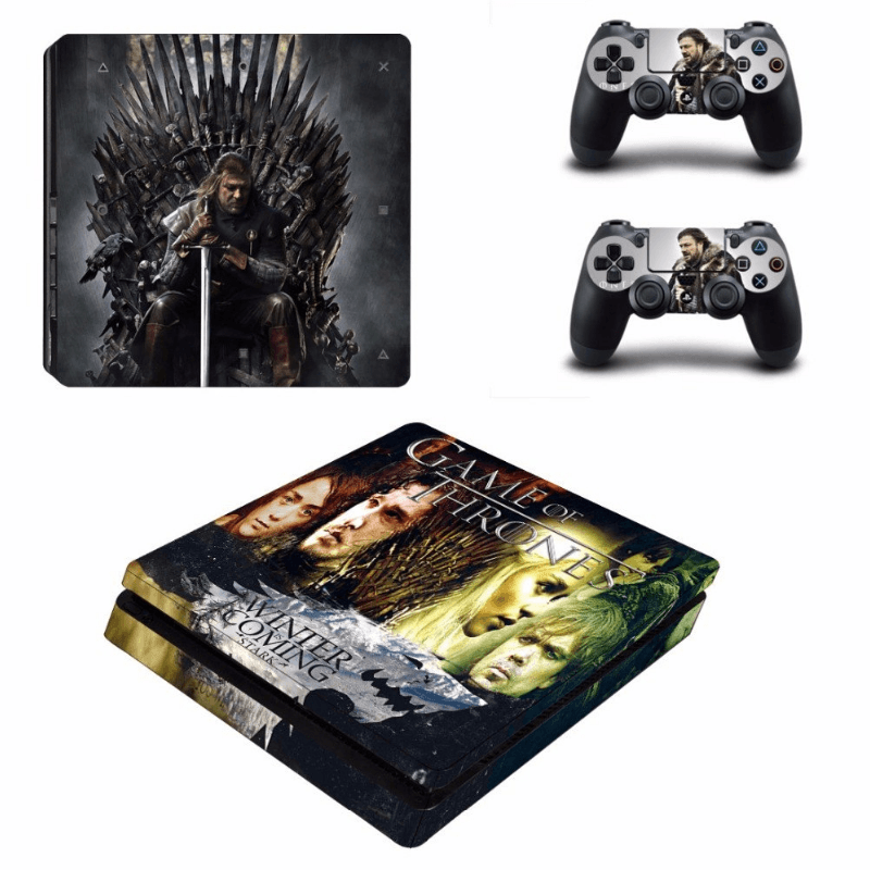 Game Of Thrones Skin For PS4 Slim