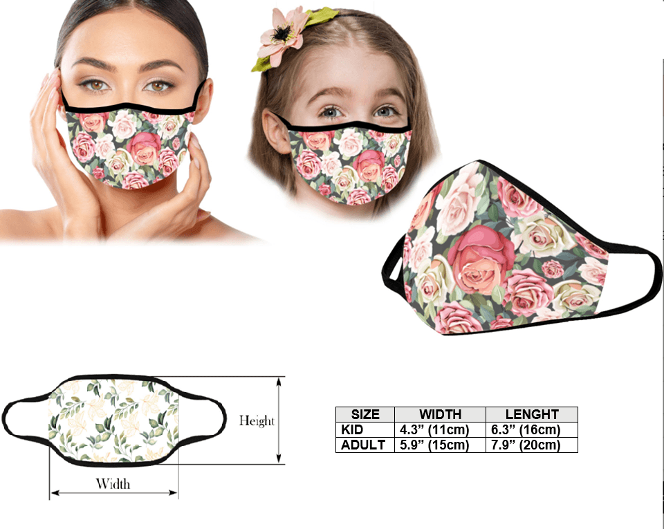 Hippie Tree Fabric Mask