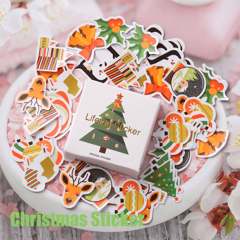 Christmas Scrapbooking Stickers
