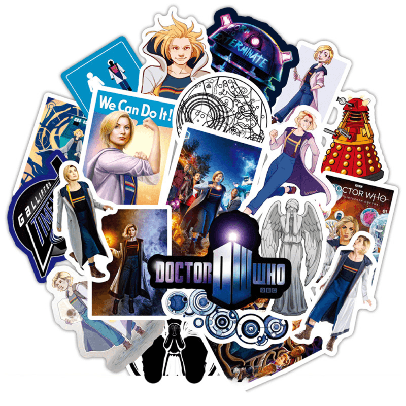 Doctor Who Stickers