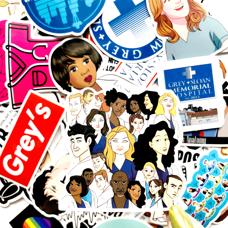 Grey's Anatomy Stickers