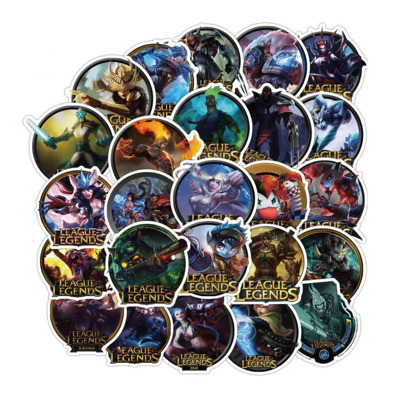 League Of Legends Game Stickers