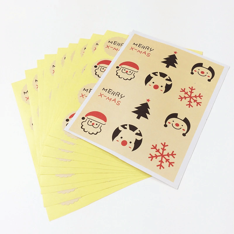 Merry Christmas Sealing Stickers