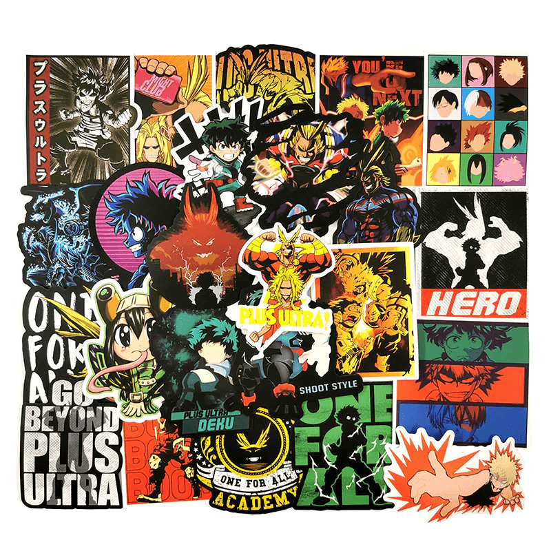 My Hero Academia Cool Stickers