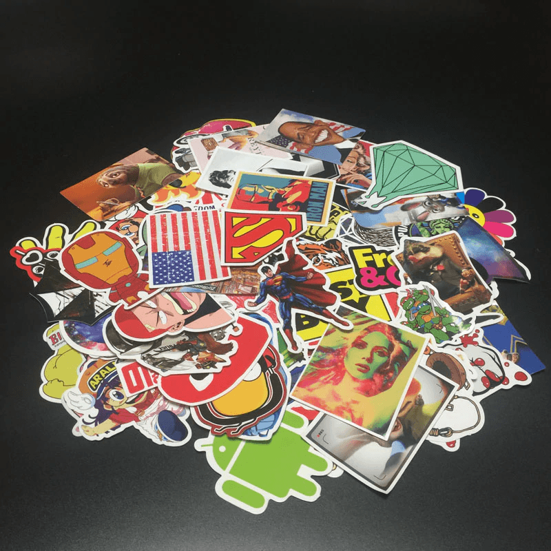 Random Mixed Stickers