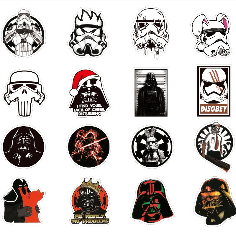 Star Wars Creative Graffiti Stickers