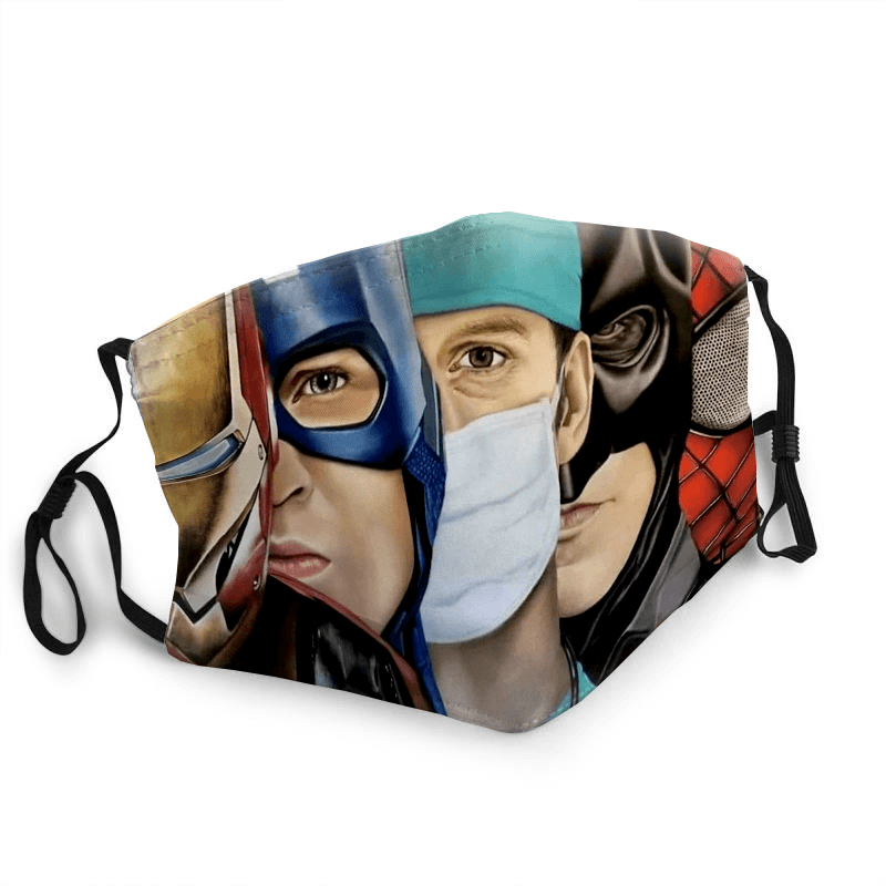 Doctors Hero Fabric Mask