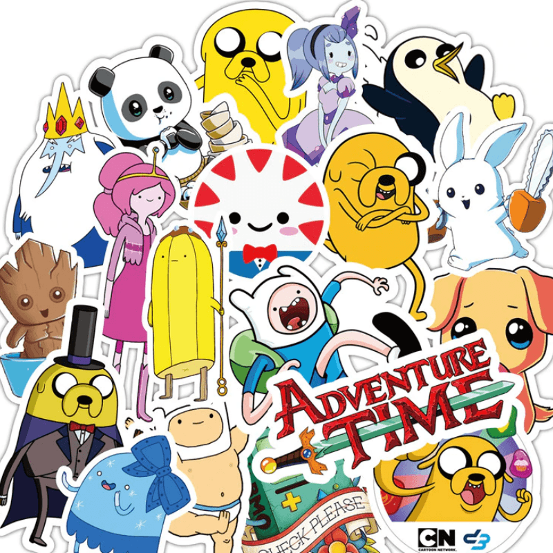 Adventure Time Stickers Thurfy