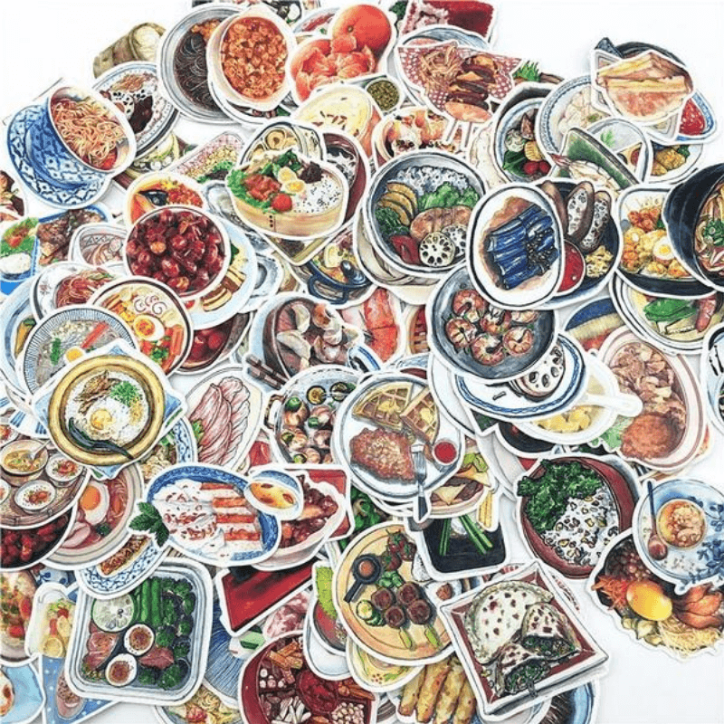 Asian Food stickers