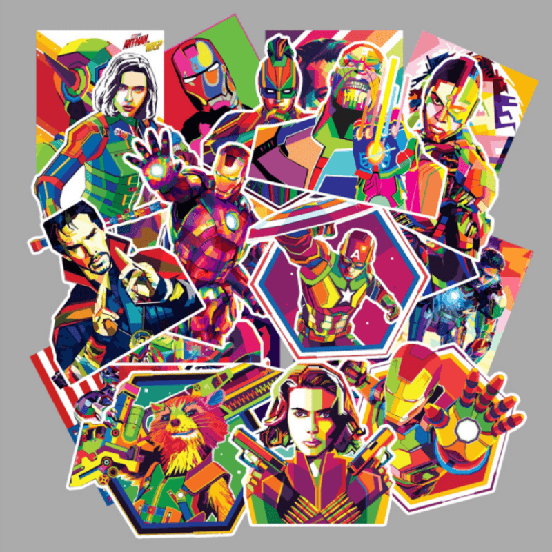 Avengers Endgame Stickers