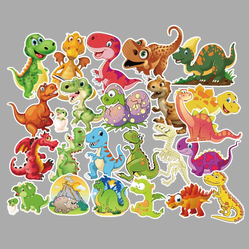 Baby Dinosaur Stickers