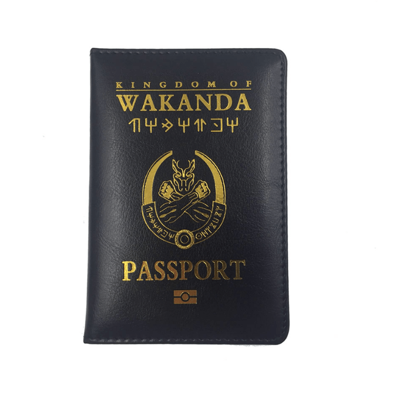 Black Panther Passport Cover