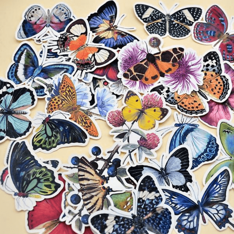 Butterfly Scrapbooking Stickers - Thurfy