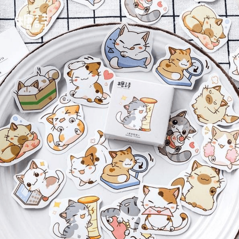 Calico Cat Lovely Stickers