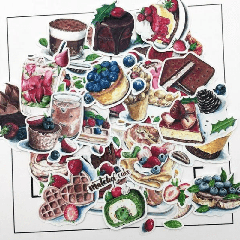 Dessert and Cakes Stickers