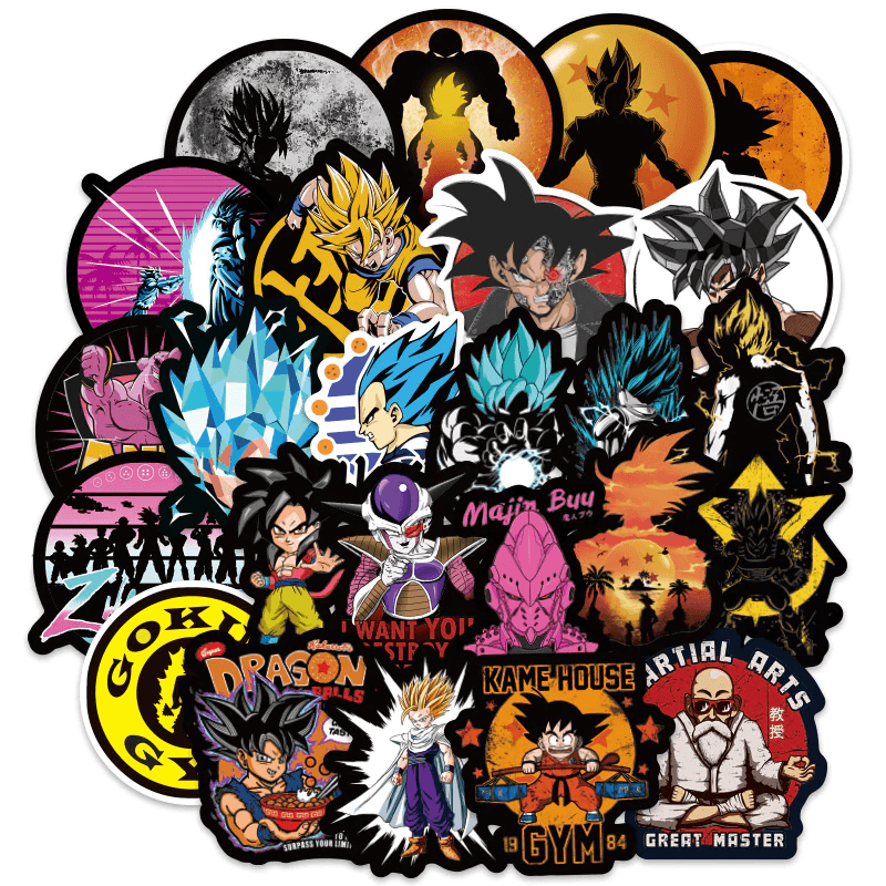 Dragon Ball Cool Stickers