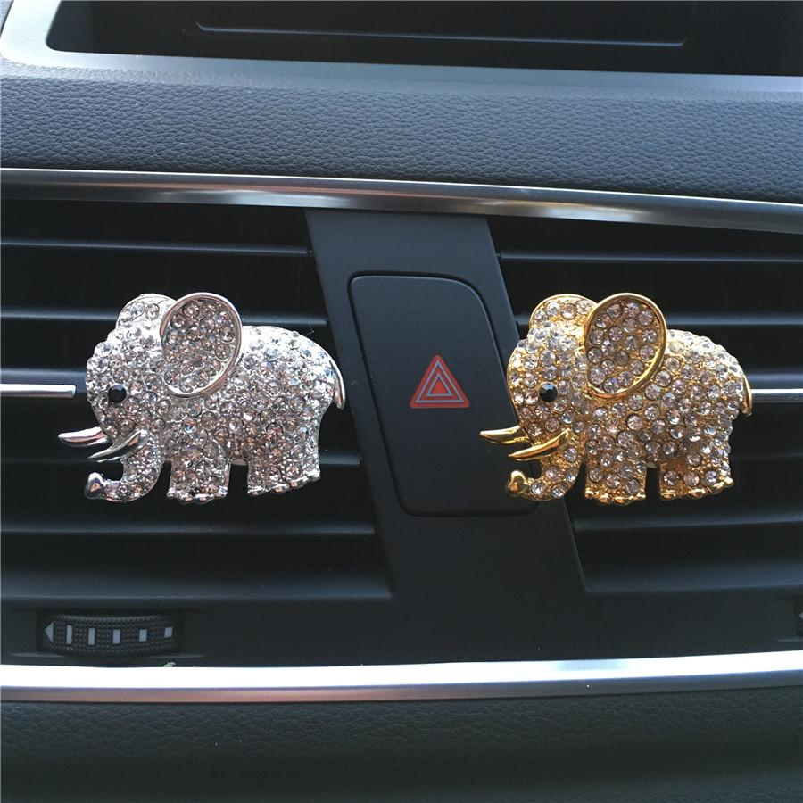 Elephant Car Air Freshener Perfume
