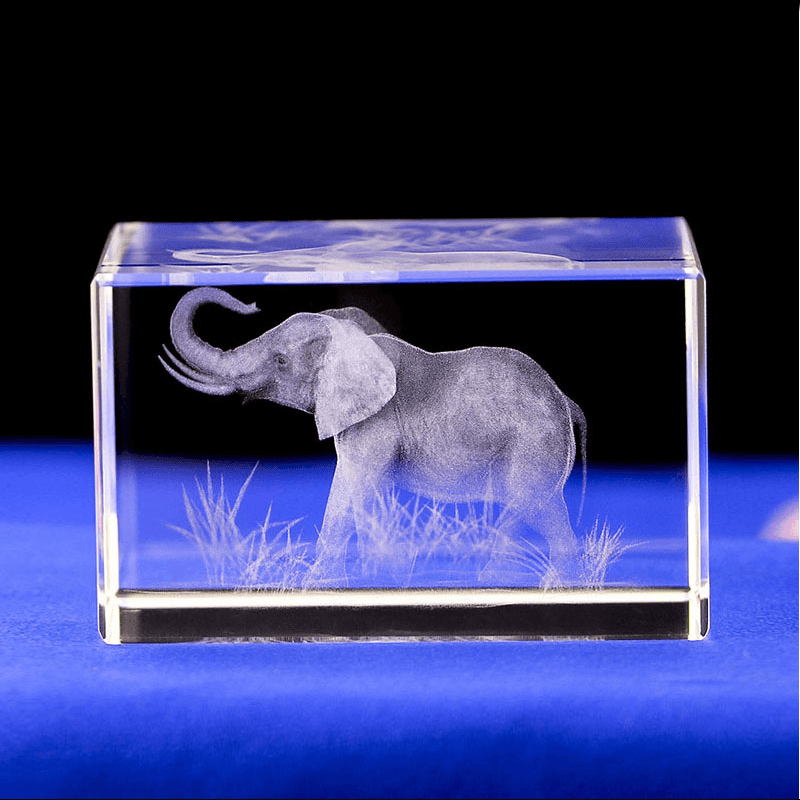 Elephant K9 Crystal