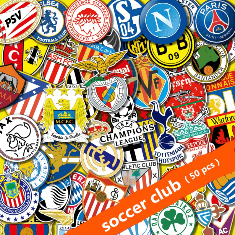 Football Club Stickers