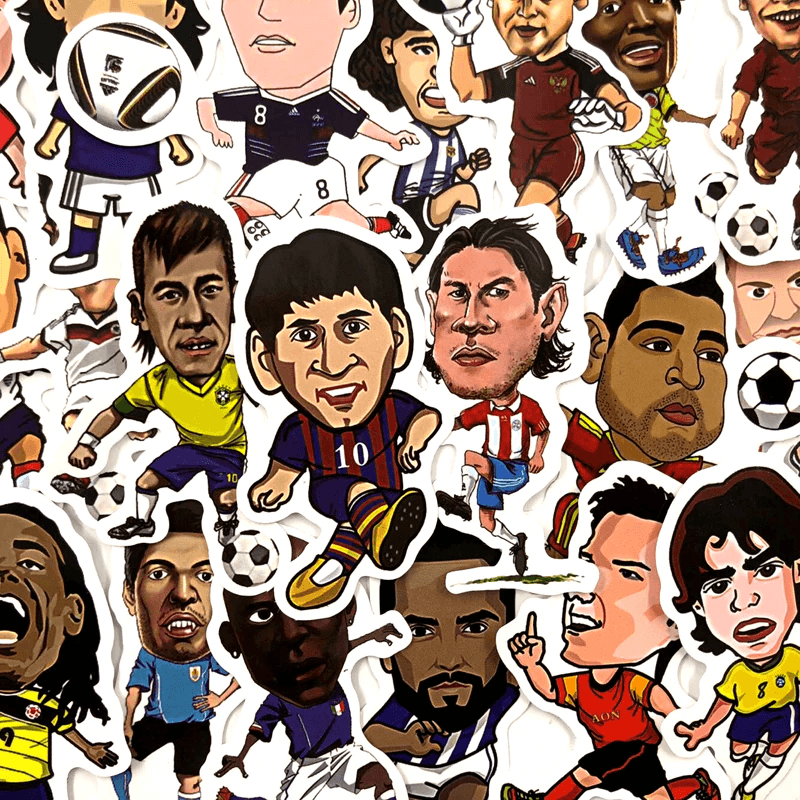 Football Stars Stickers