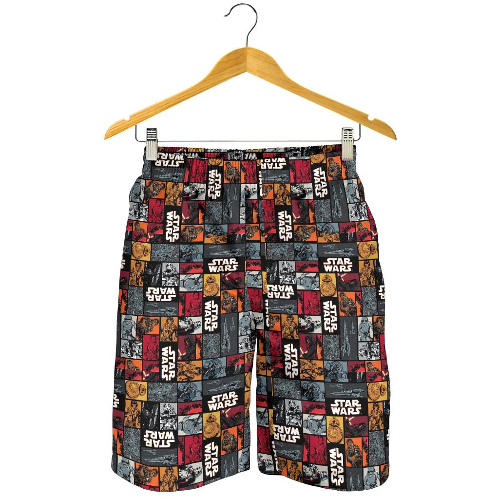 Star Wars Red Comic Men's Shorts
