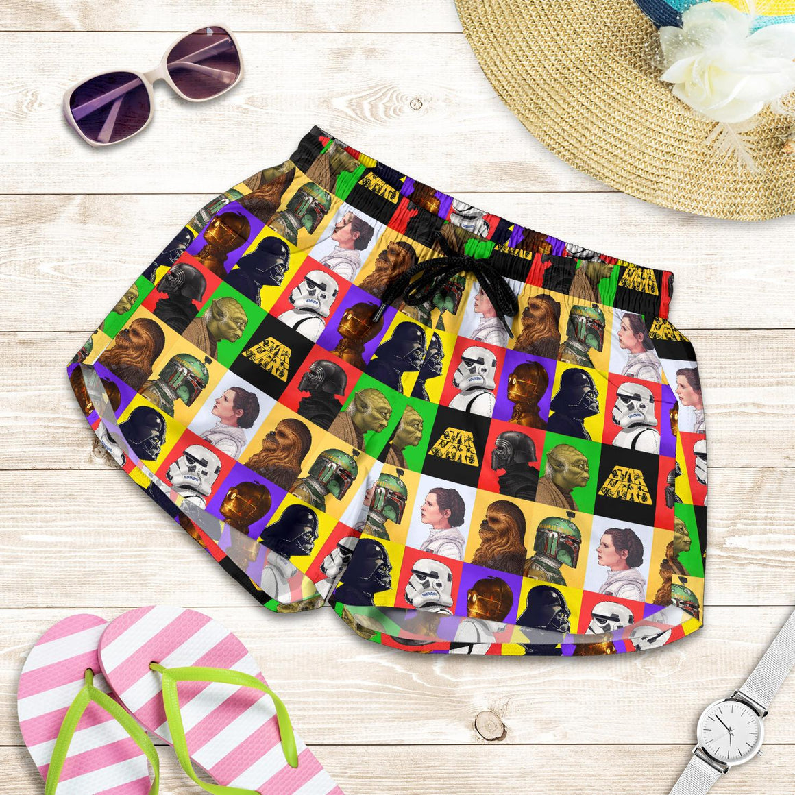 Star Wars Beach Women's Shorts