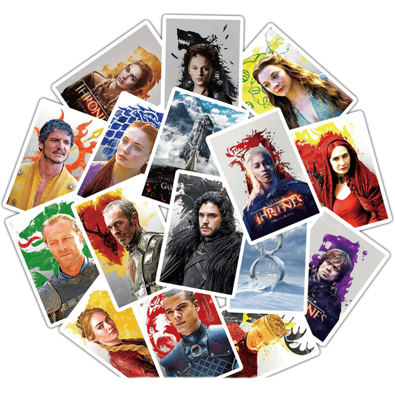 Game Of Thrones Cartoon Stickers