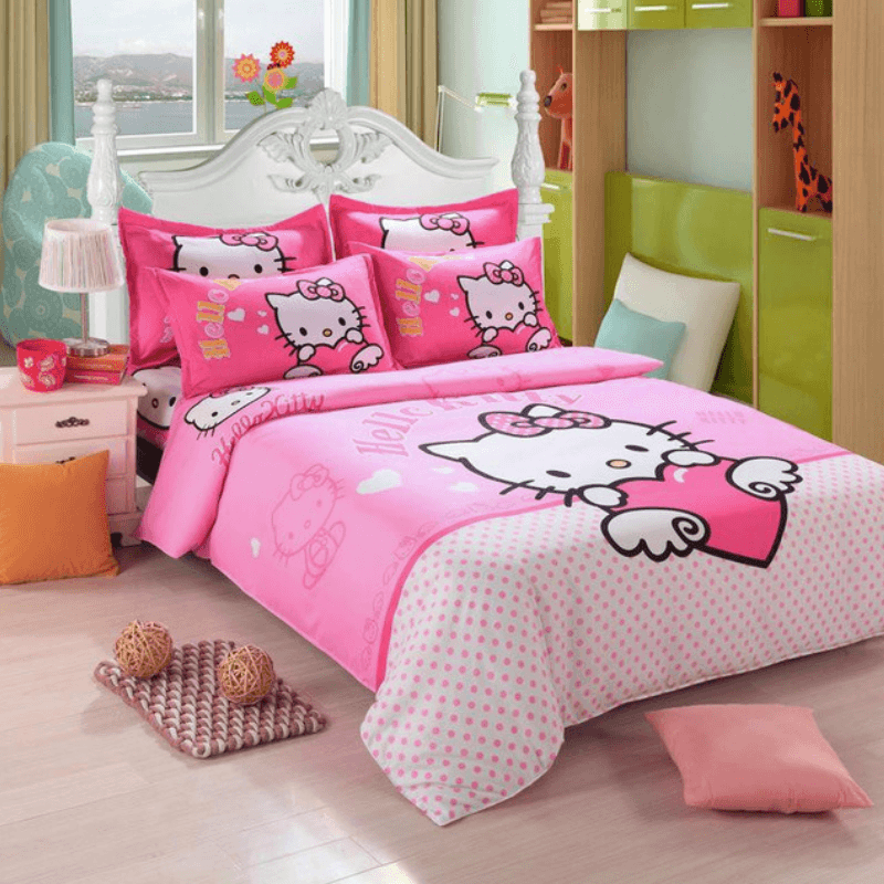Hello Kitty Luxury Bedding Set