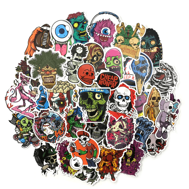 Horror Stickers