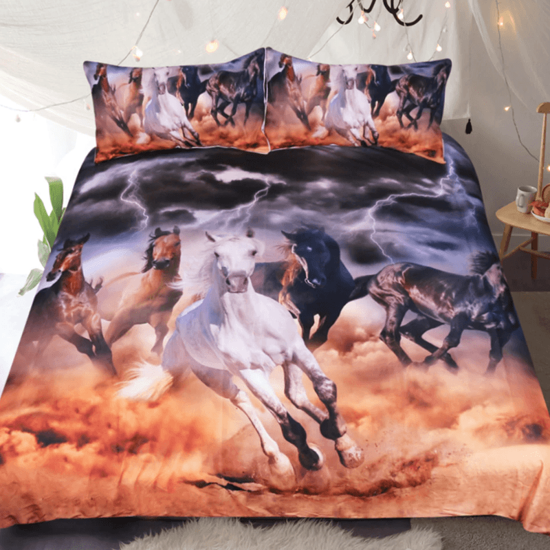 Horses Bedding Set
