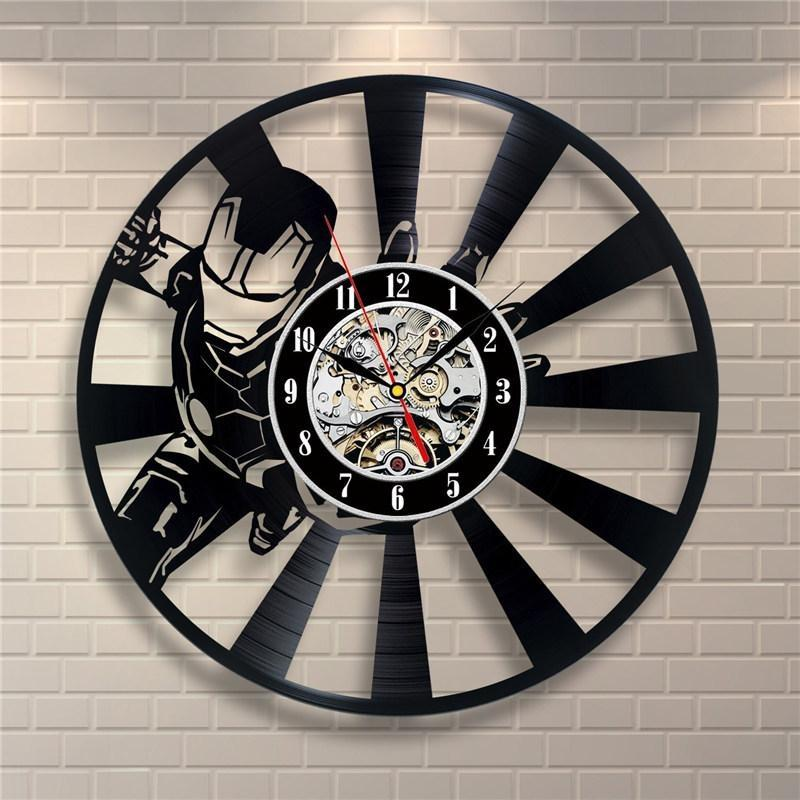 Iron Man Wall Clock Thurfy