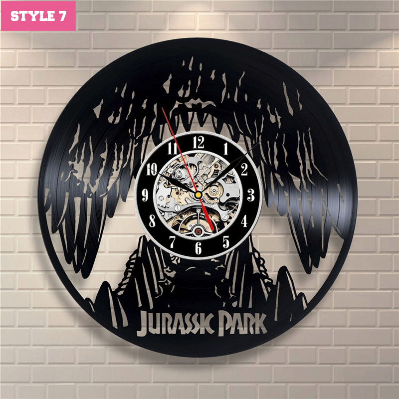 Jurassic World Wall Clock