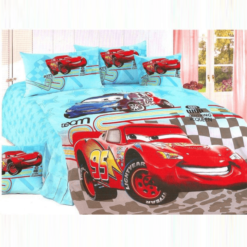 Lightning McQueen Luxury Bedding Set