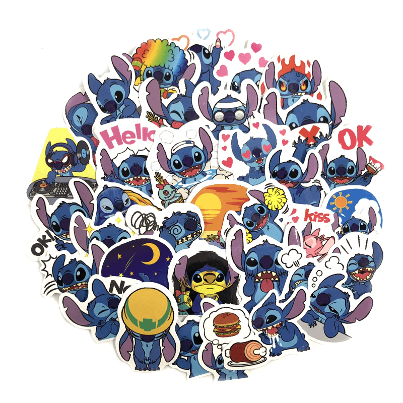 Stitch Stickers
