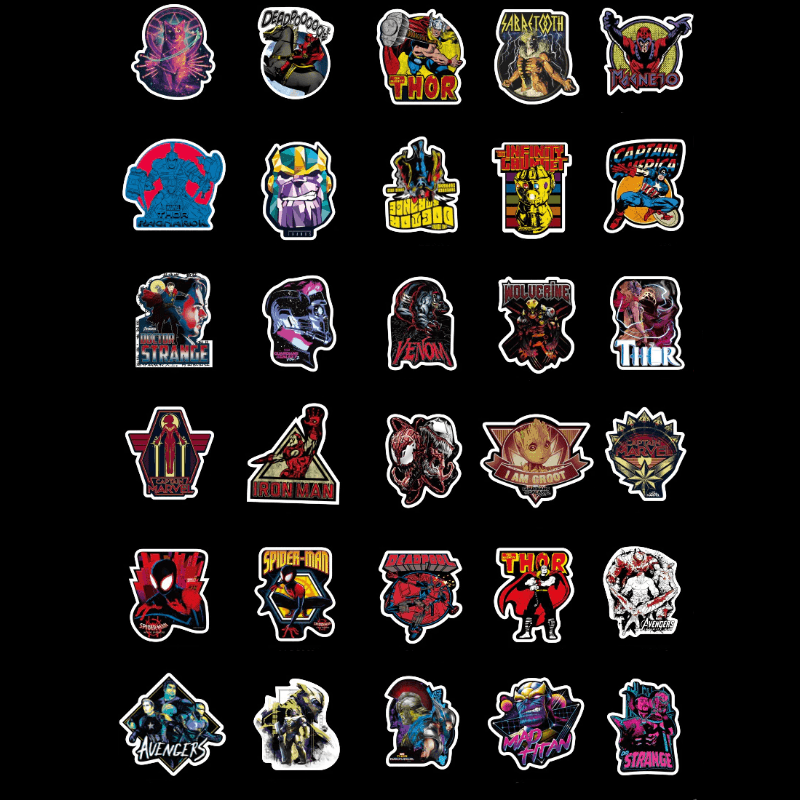 Marvel Avengers Stickers