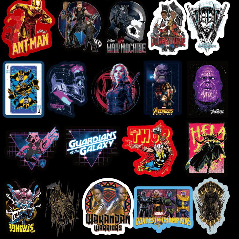 Marvel The Avengers Stickers